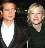 "Brat Pitt i Cate Blanchett, bohaterowie filmu ""The Curious Case of Benjamin Button"" /"