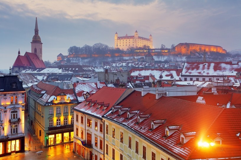 Bratysława (na dalszym planie zamek Devin) /123RF/PICSEL