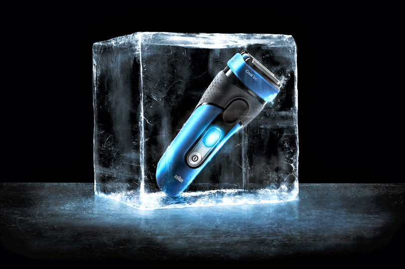 Braun °CoolTec - to pierwsza na świecie golarka  z technologią aktywnego chłodzenia /materiały prasowe