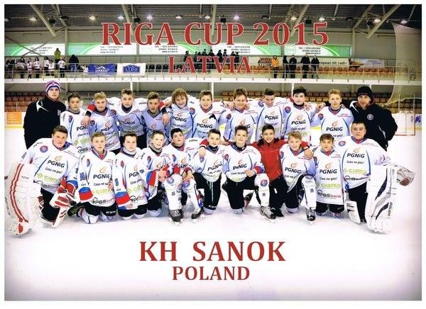 Brawa dla trenera Wojciecha Milana i żaków z KH Sanok! /Hokej.net