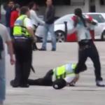 Brawurowa akcja brytyjskiej policji! Strach się bać! [WIDEO]