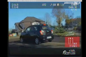 Brawurowa ucieczka kierowcy Audi