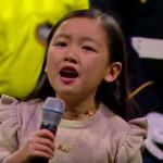 Brawurowe wykonanie hymnu przez siedmiolatkę. Znów zachwyciła (WIDEO)
