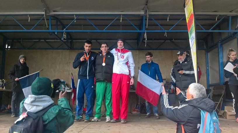 Brązowy medalista Daniel Pek (P) /Piotr Czuto /Informacja prasowa