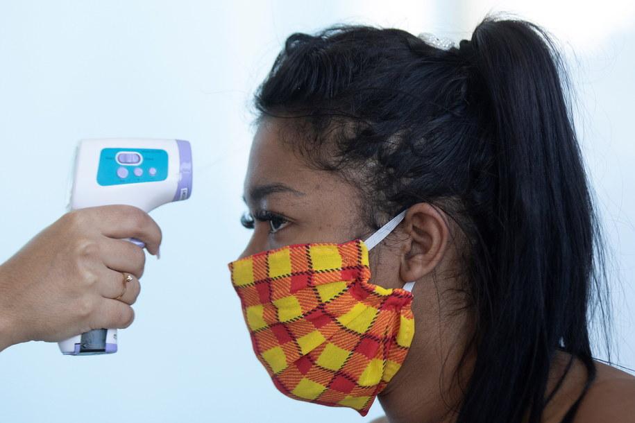 Brazylia: 438 238 potwierdzonych przypadków koronawirusa, 26 754 ofiar śmiertelnych /Joedson Alves /PAP/EPA