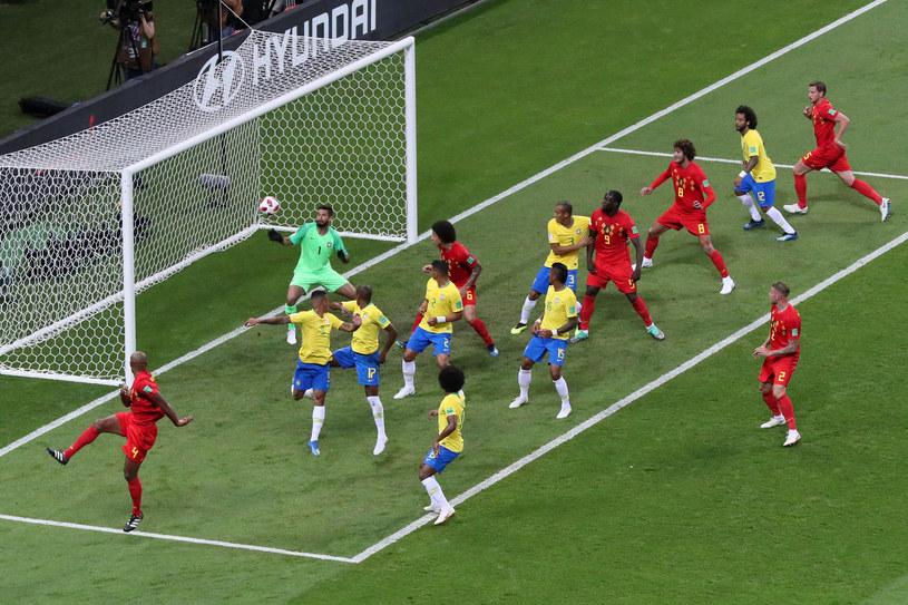 Brazylia - Belgia /Getty Images