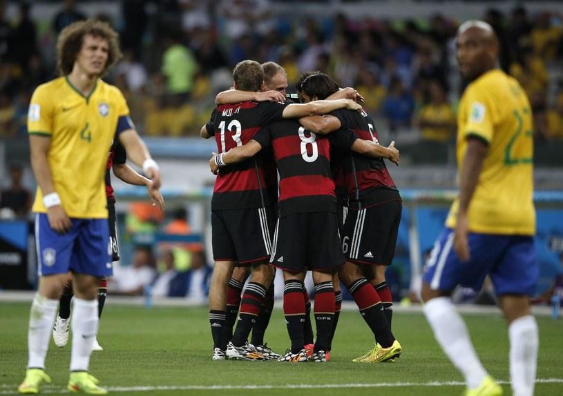 Brazylia boleśnie przekonała się o wielkości Niemiec /AFP
