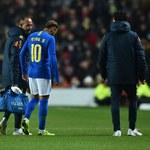 Brazylia - Kamerun 1-0. Kontuzja Neymara