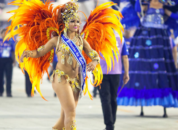 Brazylia słynie z samby /123RF/PICSEL