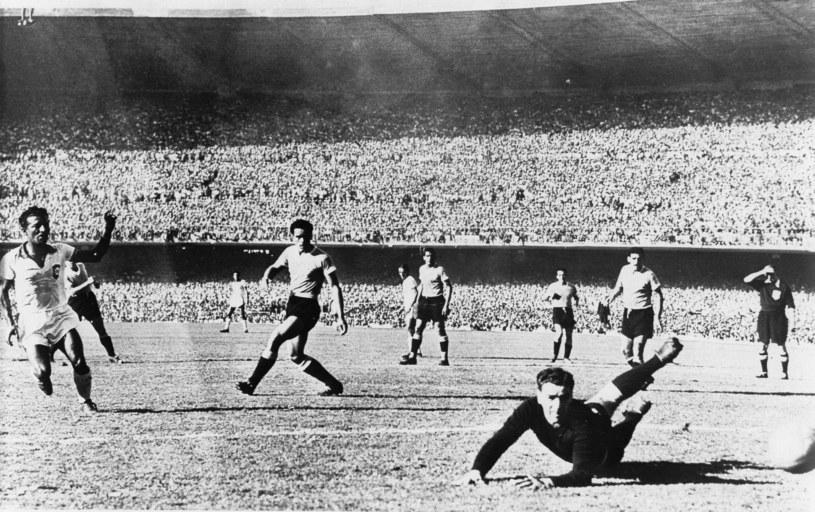 Brazylia - Urugwaj i słynne Maracanazo w 1950 roku /Newspix