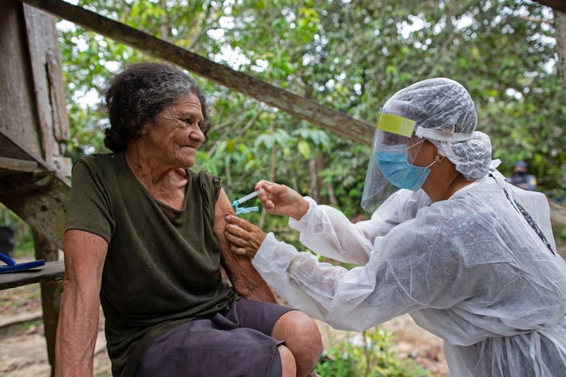Brazylia: Wariant koronawirusa z Amazonii trzykrotnie bardziej zaraźliwy /Michael DANTAS /AFP