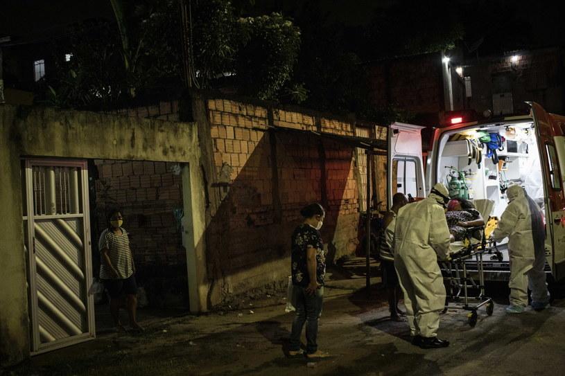 Brazylia: Wzmożony atak koronawirusa /RAPHAEL ALVES /PAP/EPA