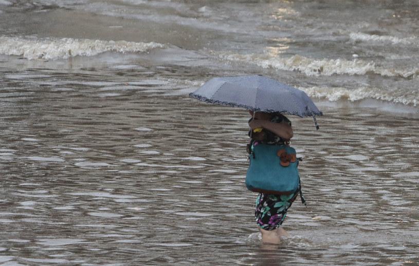 Brazylia zmaga się z powodzią /AFP
