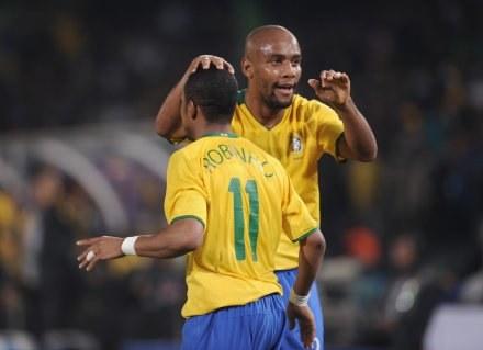 Brazylijczycy będą faworytem mundialu w RPA /AFP