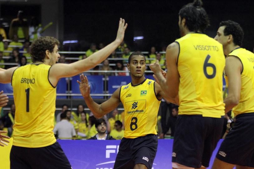 Brazylijczycy mają już zapewniony występ w turnieju finałowym Ligi Światowej /www.fivb.org
