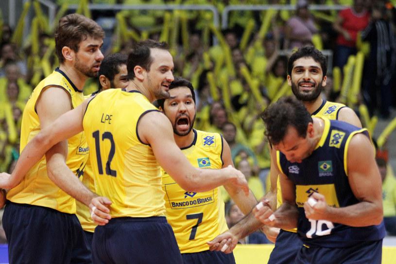 Brazylijczycy ponieśli tylko jedną porażkę w fazie grupowej Ligi Światowej /www.fivb.org