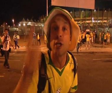Brazylijczycy rozczarowani i źli po klęsce w półfinale MŚ. Wideo