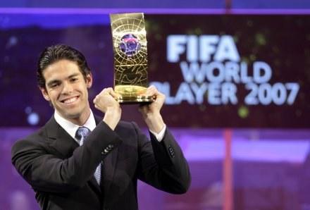 Brazylijczyk Kaka Piłkarzem Roku FIFA /AFP