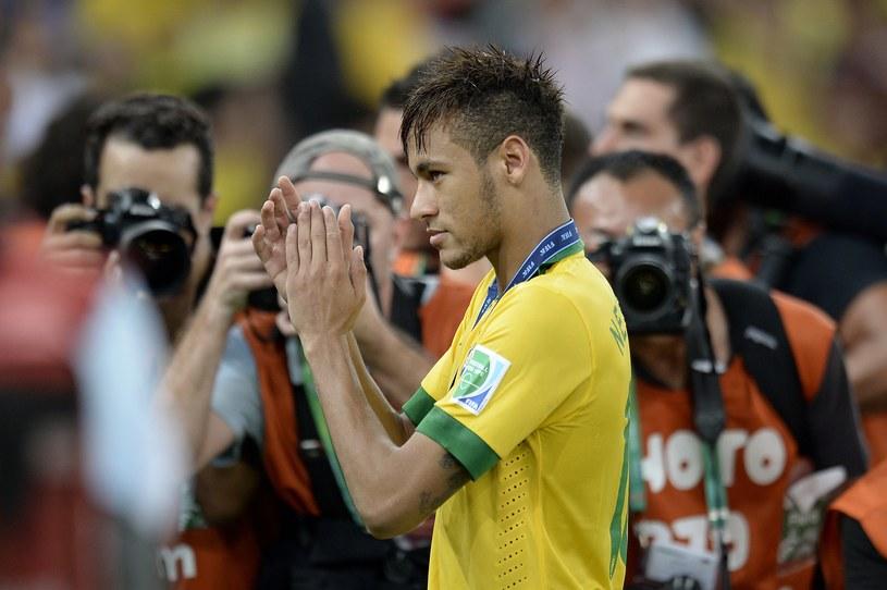 Brazylijczyk Neymar - nowa gwiazda Barcelony /AFP