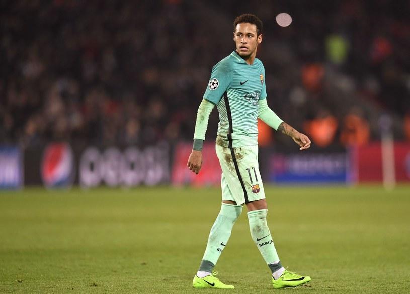 Brazylijczyk Neymar /AFP