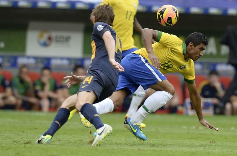 Brazylijczyk Paulinho /AFP
