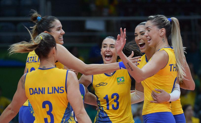 Brazylijki awansowały do ćwierćfinału z pierwszego miejsca w grupie /www.fivb.org