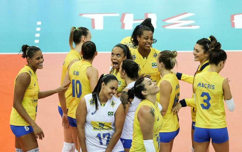 Brazylijki mają powody do radości /www.fivb.org