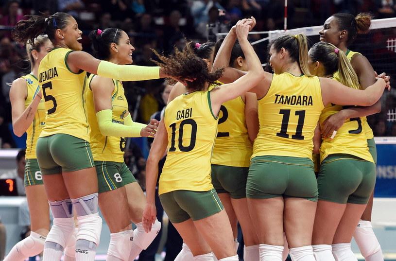 Brazylijki pokonały w piątek Dominikanę /AFP