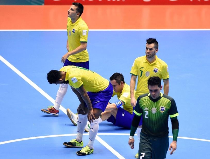 Brazylijscy futsaliści /AFP