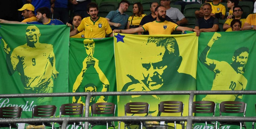 Brazylijscy kibice /AFP