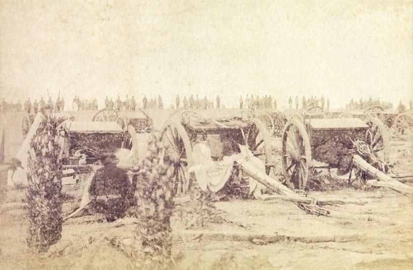 Brazylijska artyleria podczas wojny w Paragwaju /Wikimedia Commons /INTERIA.PL/materiały prasowe