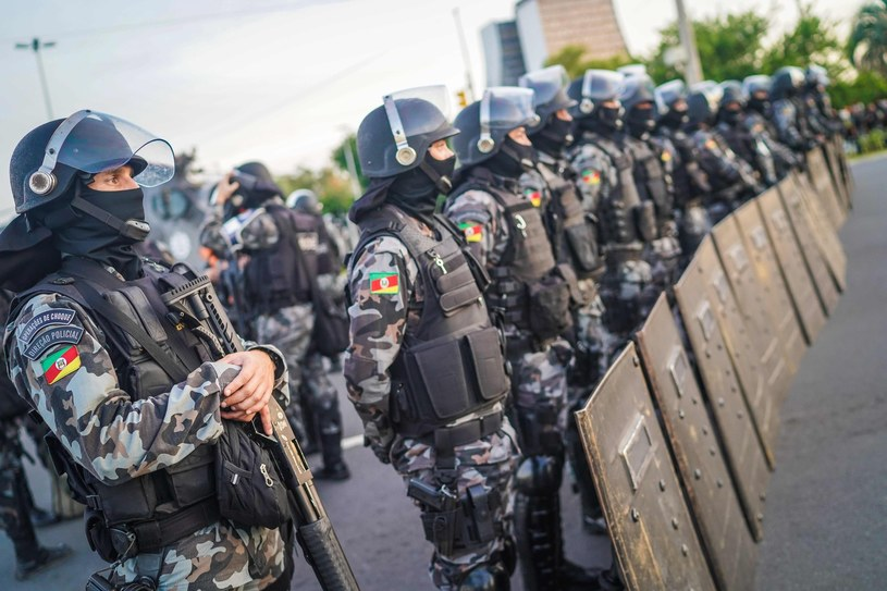 Brazylijska policja, zdj. ilustracyjne /jefferson bernardes /East News