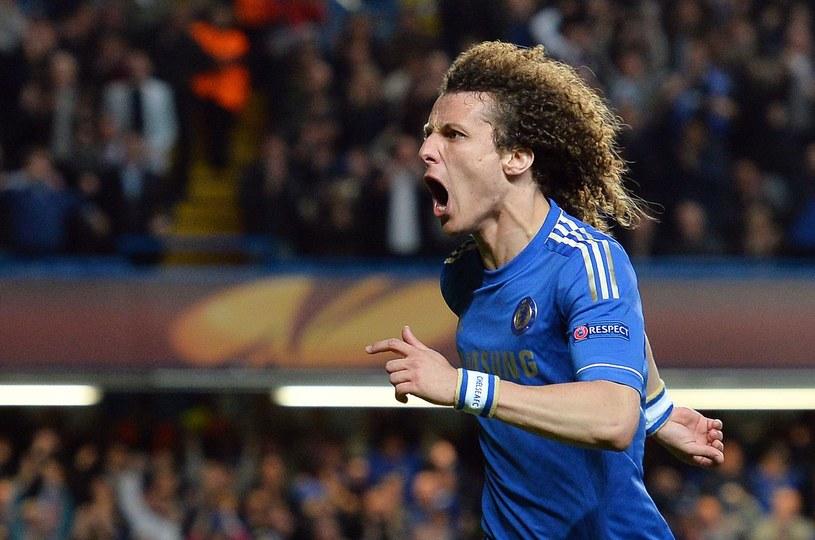 Brazylijski obrońca Chelsea David Luiz /AFP