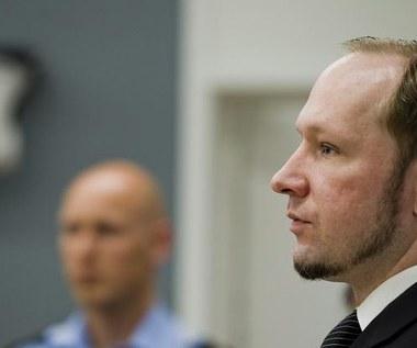 Breivik: Nie będę składał apelacji, jeśli uznają mnie za winnego