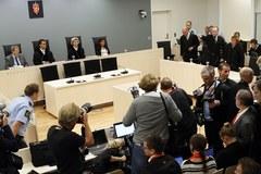 Breivik z uśmiechem na twarzy słuchał wyroku