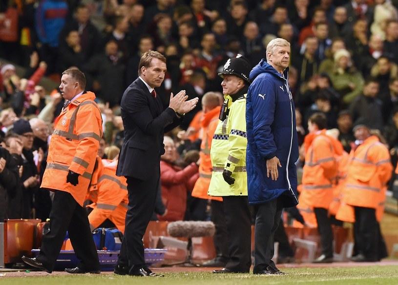Brendan Rodgers i Arsene Wenger. Kto będzie lepszy? /AFP