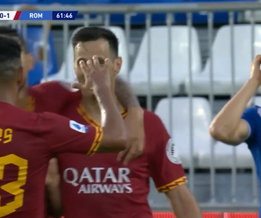 Brescia - AS Roma 0-3 - skrót (ZDJĘCIA ELEVEN SPORTS). WIDEO