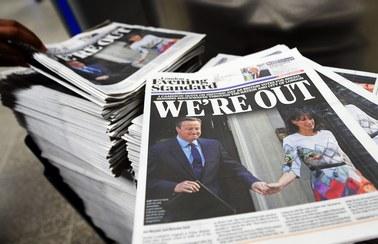 Brexit przesądzony: Brytyjczycy zdecydowali, że chcą opuścić Unię Europejską