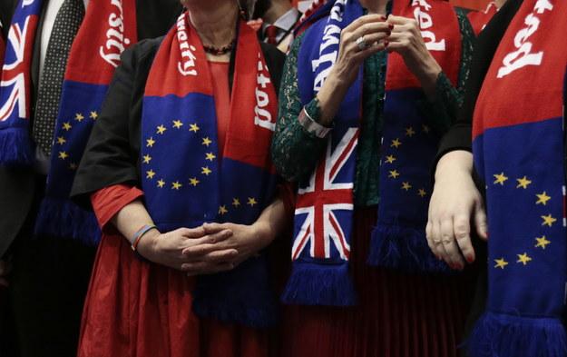 Brexit wzmocni skrajną prawicę w PE /OLIVIER HOSLET /PAP/EPA