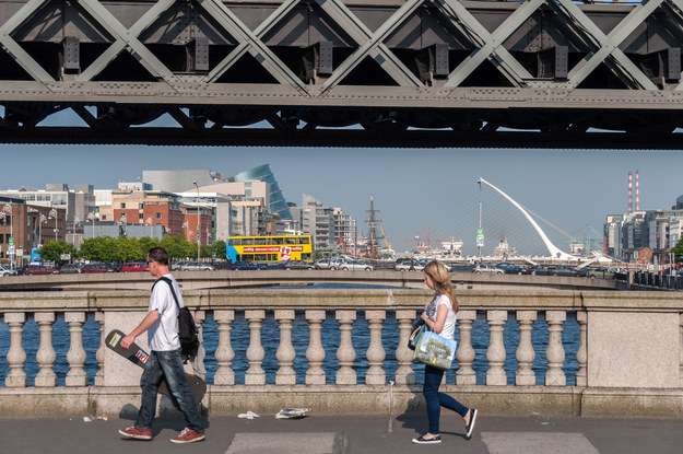 Brexit zaczyna uderzać w Irlandię. Nz. Dublin /123RF/PICSEL