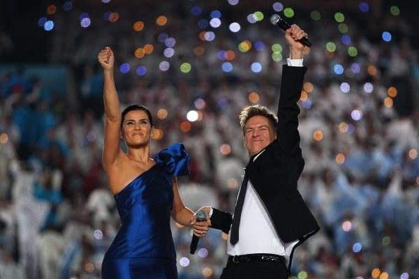 Brian Adams razem z Nelly Furtado śpiewał na otwarciu IO w Vancouver. /AFP