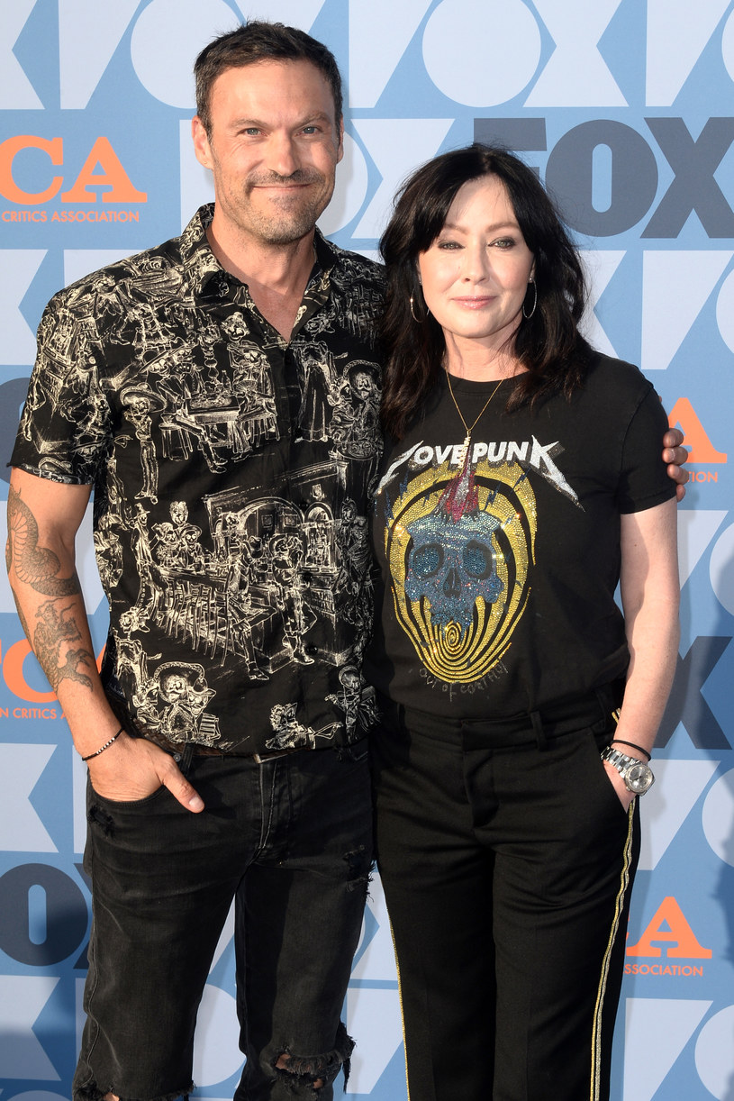 Brian Austin Green i Shannen Doherty /Jerod Harris /Getty Images