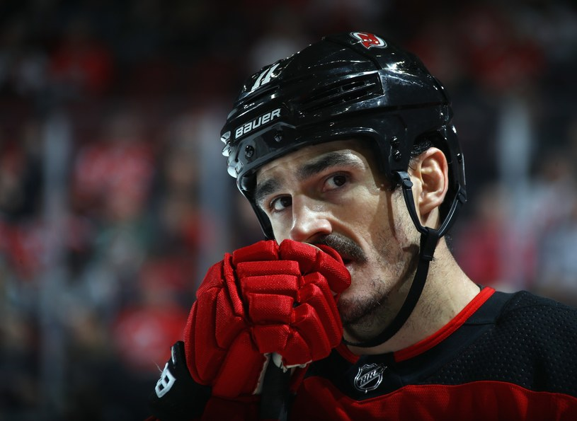 Brian Boyle z New Jersey Devils /AFP