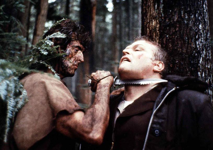 "Brian Dennehy w filmie ""Rambo - Pierwsza krew"" /United Archives/IFTN    /East News"
