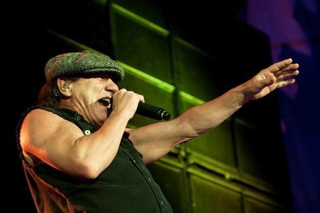 Brian Johnson od 1980 roku śpiewa w AC/DC /fot. Bartosz Nowicki