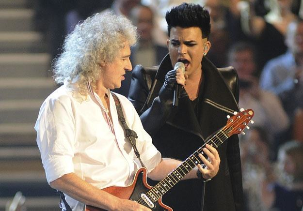 "Brian May i Adam Lambert: ""To nic pewnego"" fot. Ian Gavan /Getty Images/Flash Press Media"