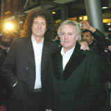Brian May i Roger Taylor (Queen) /AFP