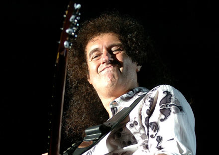 Brian May (Queen) /arch. AFP