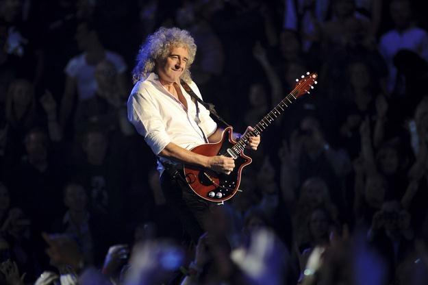 Brian May w swoim żywiole - fot. Ian Gavan /Getty Images/Flash Press Media