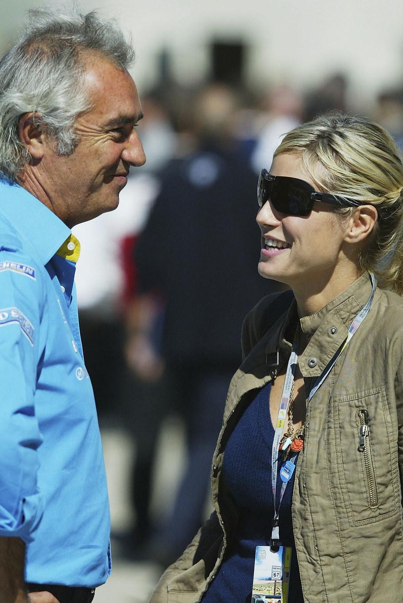 Briatore i Klum rozstali się jeszcze przed narodzinami córki /Clive Rose /Getty Images